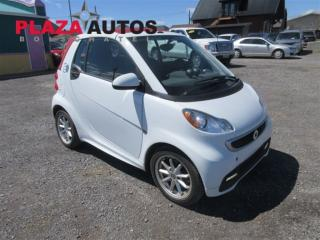 Used 2016 Smart fortwo PASSION for sale in Boischatel, QC