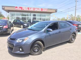Used 2016 Toyota Corolla S for sale in Mississauga, ON