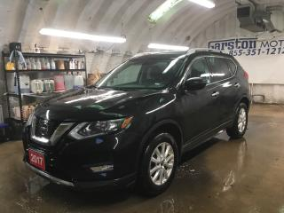 Used 2017 Nissan Rogue SV*AWD*KEYLESS ENTRY w/REMOTE START*PHONE CONNECT*BACK UP CAMERA*PUSH BUTTON IGNITION*SPORT/ECO MODE*HEATED FRONT SEATS*POWER DRIVER SEAT* for sale in Cambridge, ON
