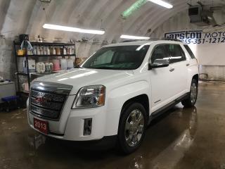 Used 2013 GMC Terrain SLT-2*AWD*LEATHER*POWER SUNROOF*BACK UP CAMERA*PIONEER AUDIO*POWER REAR LIFT GATE*KEYLESS ENTRY w/REMOTE START*COLLISION/LANE DEPARTURE ALERT*HEATED F for sale in Cambridge, ON