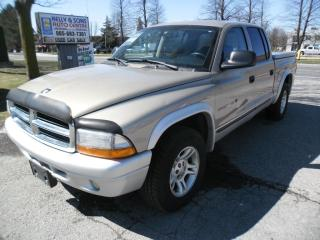 Used 2002 Dodge Dakota SLT QUAD CAB