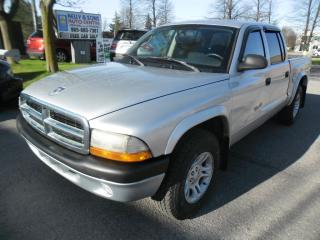 Used 2004 Dodge Dakota SportQuad Cab***Certified+FREE 6 month warranty*** for sale in Ajax, ON
