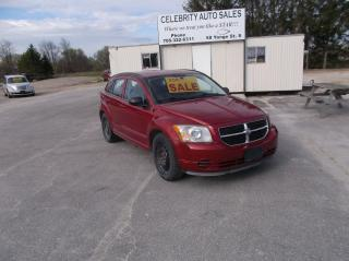 Used 2009 Dodge Caliber SXT for sale in Elmvale, ON