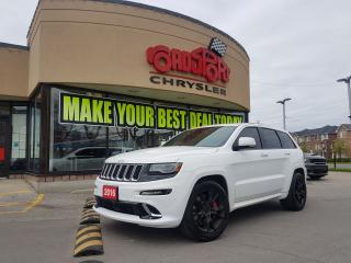 Used 2016 Jeep Grand Cherokee SRT P-ROOF NAVI TOW PKG BLK WLS 485 HORSEPOWR for sale in Scarborough, ON