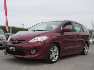 Used 2010 Mazda MAZDA5 GT / WELL MAINTAINED / ONE OWNER / ACCIDENT FREE for sale in Newmarket, ON