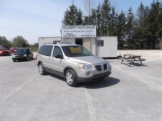 Used 2009 Pontiac Montana SV6 for sale in Elmvale, ON