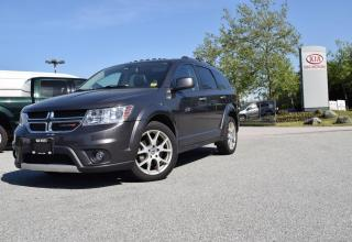 Used 2014 Dodge Journey AUTO/LEATHER/ROOF/CAMERA/ for sale in Quesnel, BC