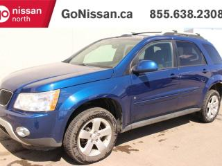 Used 2009 Pontiac Torrent HEATED SEATS, REAR DVD, LOW KMS, AWD, GREAT SHAPE! for sale in Edmonton, AB