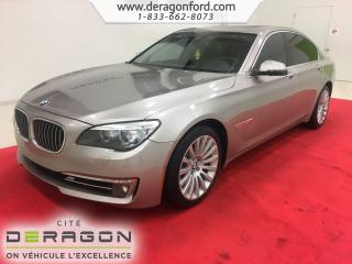 Used 2013 BMW 7 Series 750i Xdrive Executive for sale in Cowansville, QC