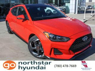 New 2019 Hyundai Veloster TURBO MANUAL/6SPEED/ HEATED SEATS AND STEERING/ANDRIOD AUTO/LED HEADLIGHTS/SUNROOF for sale in Edmonton, AB