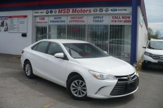 Used 2017 Toyota Camry LE ACCIDENT FREE for sale in Etobicoke, ON