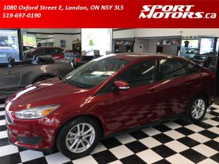 Used 2015 Ford Focus SE! Camera! Bluetooth! Keyless Entry! Rust Proofed for sale in London, ON