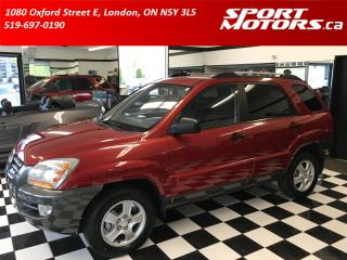 Used 2008 Kia Sportage LX! New Tires! 4WD! V6! Cruise Control! for sale in London, ON