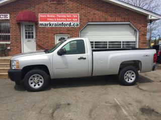 Used 2010 Chevrolet Silverado 1500 WT V6 4X4 A/C Auto LOW KMS for sale in Bowmanville, ON