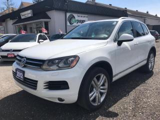 Used 2012 Volkswagen Touareg HIGHLINE for sale in Bloomingdale, ON