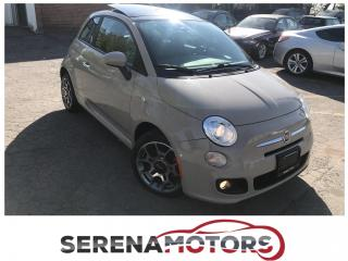Used 2012 Fiat 500 SPORT | PANOROOF | NO ACCIDENTS | for sale in Mississauga, ON