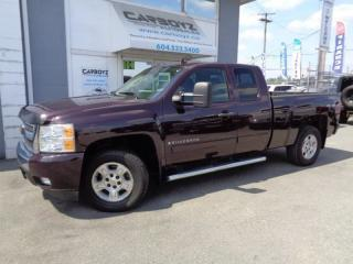 Used 2008 Chevrolet Silverado 1500 LT 4x4, 5.3L V8, Extended Cab, 6.5 Box for sale in Langley, BC