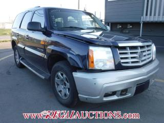 Used 2004 Cadillac ESCALADE  4D UTILITY AWD for sale in Calgary, AB