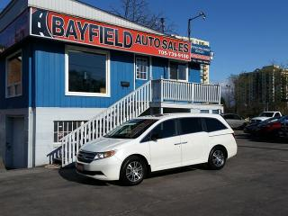 Used 2012 Honda Odyssey EX-L **8 Passenger/Leather/Sunroof/DVD/Reverse Cam** for sale in Barrie, ON