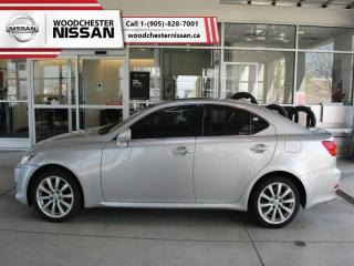 Used 2008 Lexus IS 250 Base  - $116.96 B/W for sale in Mississauga, ON