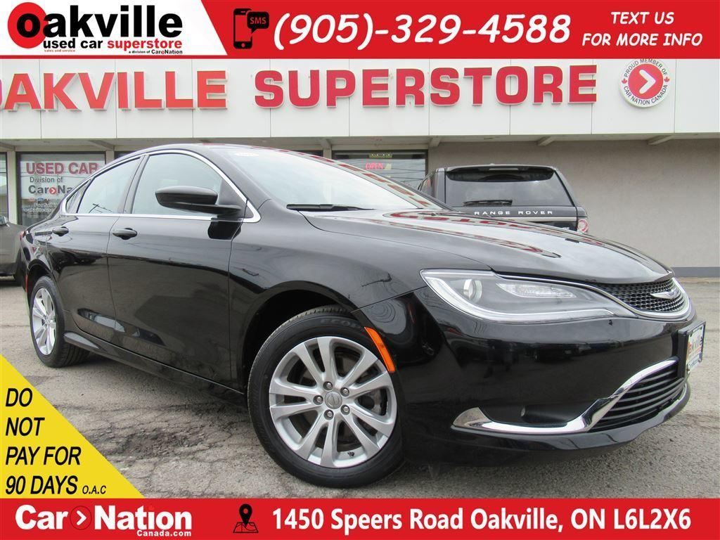 push cars ontario cruise oakville chrysler limited control bluetooth used
