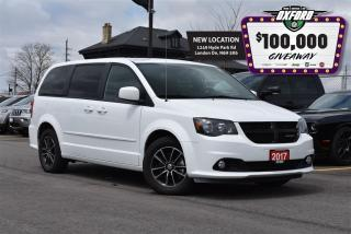 Used 2017 Dodge Grand Caravan Blacktop - CD, DVD, GPS, bluetooth, back up cam for sale in London, ON