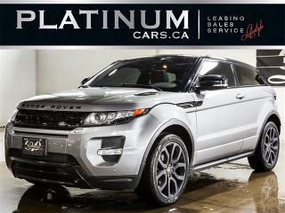 Used 2013 Land Rover Evoque COUPE, DYNAMIC, NAVI, CAM, PANO ROOF, LEATHER for sale in North York, ON