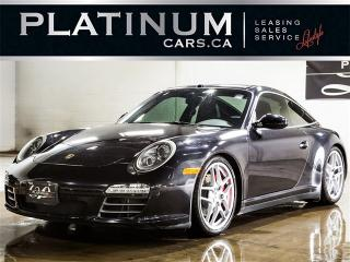 Used 2010 Porsche 911 Targa 4S, SPORT CHRONO, NAVI, 6SP, LEATHER for sale in North York, ON