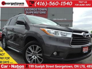 Used 2016 Toyota Highlander XLE   NAVI   LEATHER   ROOF   AWD   BACK UP CAM for sale in Georgetown, ON