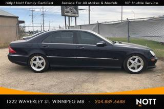 Used 2005 Mercedes-Benz S-Class S500V 4Matic 5.0L V8 Sunroof H for sale in Winnipeg, MB