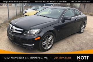 Used 2012 Mercedes-Benz C-Class C250 Navi Panoramic Roof Heate for sale in Winnipeg, MB