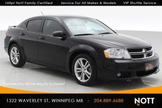Used 2012 Dodge Avenger SXT Heated Seats Low kms! for sale in Winnipeg, MB