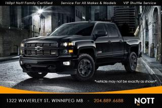 Used 2015 Chevrolet Silverado 1500 LS Double Crew Cab Blacked Out for sale in Winnipeg, MB
