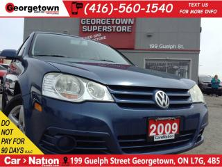Used 2009 Volkswagen City Golf 2.0L | ONE OWNER | CLEAN CARPROOF | AS IS SPECIAL for sale in Georgetown, ON