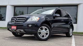 Used 2008 Mercedes-Benz ML-Class 3.5L for sale in Mississauga, ON