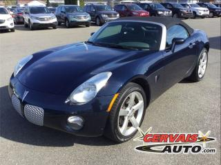 Used 2007 Pontiac Solstice Convertible A/c Mags for sale in Saint-georges-de-champlain, QC