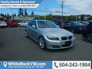 Used 2010 BMW 335i Memory Seat, Radio Data System, Leather Upholstery & Heated Front Seats for sale in Surrey, BC