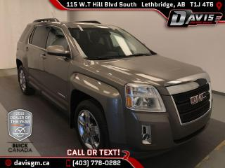 Used 2012 GMC Terrain SLT-1 HEATED SEATS, SUNROOF, COLOUR TOUCH RADIO WITH NAVIGATION for sale in Lethbridge, AB