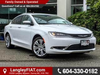 Used 2015 Chrysler 200 Limited NO ACCIDENTS, B.C OWNED for sale in Surrey, BC