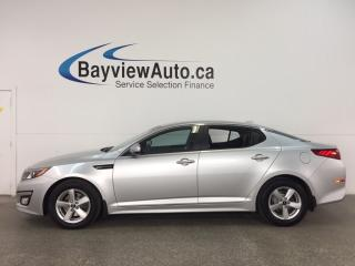Used 2015 Kia Optima LX - ALLOYS! HTD STS! BLUETOOTH! PWR GROUP! CRUISE! for sale in Belleville, ON