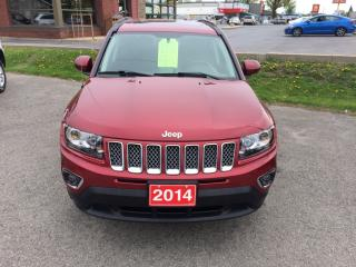 Used 2014 Jeep Compass Limited navigation w/ backupcamera,remote start,moonroof for sale in Morrisburg, ON