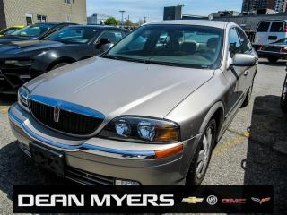 Used 2002 Lincoln LS for sale in North York, ON