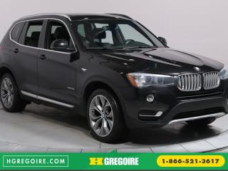Used 2015 BMW X3 XDRIVE35I A/C MAGS for sale in Saint-leonard, QC