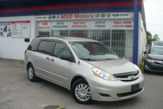 Used 2007 Toyota Sienna CE 8 PASSENGER ACCIDENT FREE for sale in Etobicoke, ON