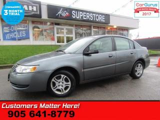 Used 2005 Saturn Ion 2 Midlevel  AS IS (UNCERTIFIED) AS TRADED IN for sale in St Catharines, ON