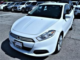 Used 2013 Dodge Dart SXT ALUMINUM WHEELS, UCONNECT !! for sale in Concord, ON
