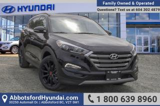 New 2018 Hyundai Tucson Noir 1.6T for sale in Abbotsford, BC