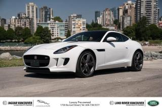 Used 2015 Jaguar F-Type Coupe S at *Certified Pre-Owned! for sale in Vancouver, BC