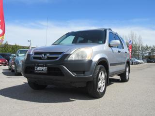 Used 2002 Honda CR-V EX / POWER ROOF/ 5 SPEED / GREAT SERVICE HISTORY for sale in Newmarket, ON