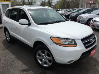 Used 2009 Hyundai Santa Fe LIMITED/SUNROOF/LEATHER/ALLOYS/AWD/CLEAN!! for sale in Scarborough, ON